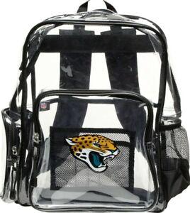 """Jacksonville Jaguars """"X-Ray"""" Mini Transparent 9"""" Backpack"""