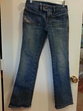 "DIESEL ""ONLY THE BRAVE"" Jeans Womens Size 26 Made in Italy Stretch Boot Cut"
