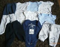 Baby boys clothes bundle 3-6 months 11 items F&F George etc see photo's (lot 7)