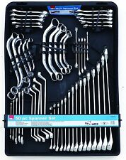 HILKA 50 PC SPANNER SET CLIP CASE OBSTRUCTION RING SPANNERS METRIC COMBINATION