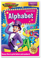Alphabet DVD by Rock 'N Learn (New)