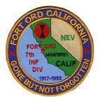 Внешний вид - FORT ORD, CALIFORNIA, 7TH INFANTRY DIVISION, 1917-1993       Y