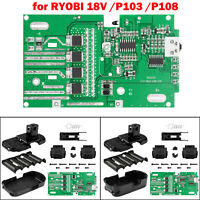 Replacement Battery Protection Circuit Board PCB Board for RYOBI 18V/P103/P108