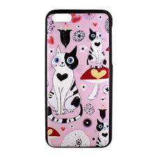 Kitty Cat Heart Floral Cute Pattern Design Hard Case Cover Skin for iPhone 5C