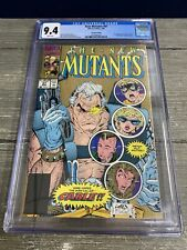 New Mutants #87 CGC 9.4 Gold 1st Appearance of Cable.