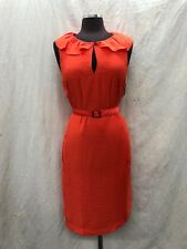 "ANNE KLEIN DRESS/ORANGE/LENGTH 40""/RETAIL$119/SIZE 14/NEW WITH TAG"