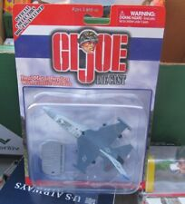 GI Joe Die Cast F-1 Fighting Falcon Jet with dog tag NEW IN PACKAGE