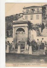 La Turbie La Fontaine France Vintage Postcard 826a