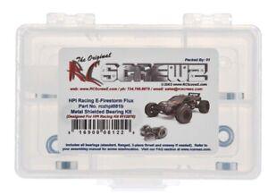 RC Screwz HPI081B Precision Metal Shielded Ball Bearing Kit HPI E-Firestorm Flux