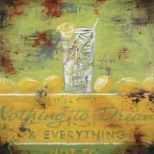 Nothing To Dream by Rodney White Retro Poster Open Edition Paper Print 24x24
