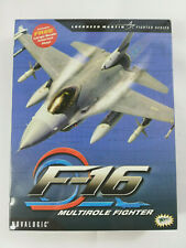 PC Game F-16 Multirole Fighter Big Box Version with Manuals & MIG 29