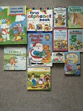 11 Books For Young And Pre-school Children - job lot bundle