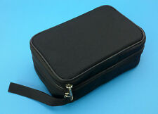 Double Layer Zipper Carrying Case / Bag for Multimeters. Fits UT61E, Fluke 87V