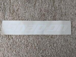 "Snap-On Tools 22"" White Vinyl Sticker Decal New -0221"