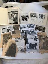 Vintage Puli Pulik Show Dog Photos & Articles 1950s