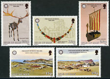 Isle of Man 301-305,MNH. Manx Museum,Ancient Monuments Act,cent. Artifacts, 1986