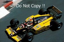 Pierluigi Martini Minardi M185 Monaco Grand Prix 1985 Photograph