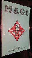 Magi Mcd Udgivet Af Magisk-Cirkel-Danmark 1979 Demuestra Alemán ABE