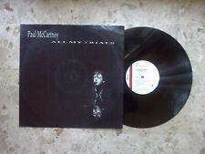 "PAUL MC CARTNEY - ALL MY TRIALS - 12"" 1990 UK ORIGINAL press 4 songs EX-/EX"