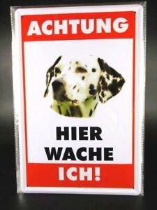 Blechschild Dalmatiner Hund Dog Metall Schild 30cm,Metal Shield