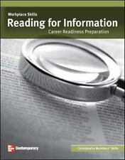 Workplace Skills: Reading for Information Career Readiness Preparation