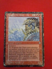 LORD CHAOS LORD ICE AGE CARD MAGIC MTG RARE FRENCH VERSION