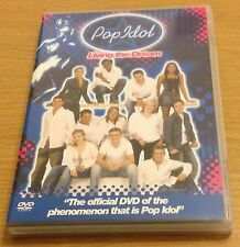 POP IDOL Living The Dream DVD (Region 2) Inc Extra Behind The Scenes DVD