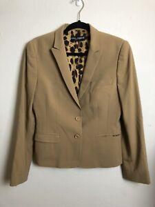 *DFSS* Dolce & Gabbana Size 46 Tan Safari Blazer Jacket Ex Cond