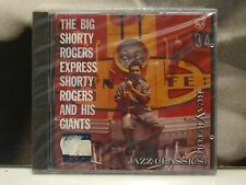SHORTY ROGERS AND HIS GIANTS - THE BIG SHORTY ROGERS EXPRESS CD NEW SEALED 1994