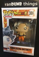 Funko Pop Goku Ultra Instinct Dragon Ball Super +0.50mm PROTECTOR -Ships from NJ