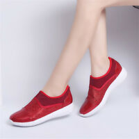 Womens Fashion Sneakers Casual Round Toe Loafers Athletic Running Shoes Slip On