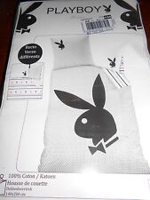 Cti - Housse de couette 140 x 200 cm Taie 63 x 63 cm Playboy Billy
