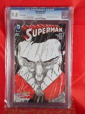 DC Comics NEW YORK EXCLUSIVE #44 CGC 9.8 Superman 2015 Convention Edition