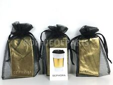 Sephora Vip Vib Gold Coffee Cup Hot Drink Mug Protector Sleeve Grip Starbucks