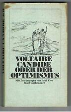 Voltaire -Candide Oder Der Optimismus - German Language Pb 1972