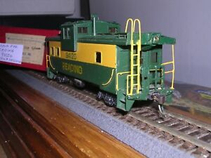 BRASS LMB Models  Reading Wide Vision Caboose #94120 w/Kadees  H.O. 1/87