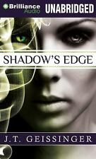 SHADOW'S EDGE unabridged audio book on CD by J.T. GEISSINGER