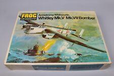 ZF511 Frog Revex 1/72 maquette avion F207 Amstrong Whitworth Whitley MK.V MK.VII