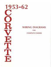 1953 1960 1961 1962 Corvette Electrical Wiring Diagram Schematic Repair Book