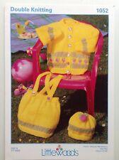 Littlewoods- Girls Cardigan, Skirt & Hat - Knitting Pattern