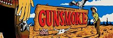 Gunsmoke Video Game Marquee High Quality Metal Magnet 2 x 6 inches 9151
