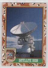 1991 Topps Storm #72.2 Satellite Dish (Brown Desert Storm) Non-Sports Card 1n4