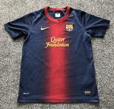 Nike Barcelona Barca Home Football Shirt 2012/2013 - Kids Size Age 12-13 Years