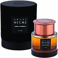 Nische Oud von Armaf Parfums 90 ml EDT für Männer Spray, Parfüm versiegelt Box