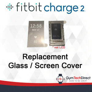 Replacement Glass / Screen Display Cover for Fitbit Charge 2! [DIY REPAIR]