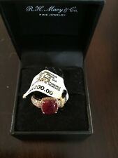 Effy Ruby and Diamond ring NWT size 7