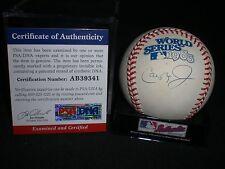 CAL RIPKEN JR. Signed 1983 World Series Baseball ORIOLES PSA/DNA