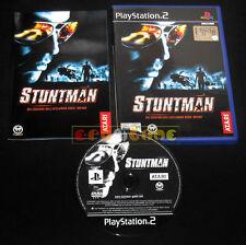 STUNTMAN Ps2 Versione Ufficiale Italiana Stunt Man 1ª Edizione ••••• COMPLETO