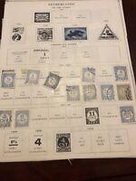 Netherlands, nice lot of older stamps