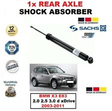 FOR BMW X3 E83 2.0 2.5 3.0 d xDrive 2003-2011 1x SACHS REAR AXLE SHOCK ABSORBER